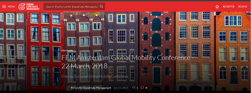 Amsterdam Global Mobility Conference 2018