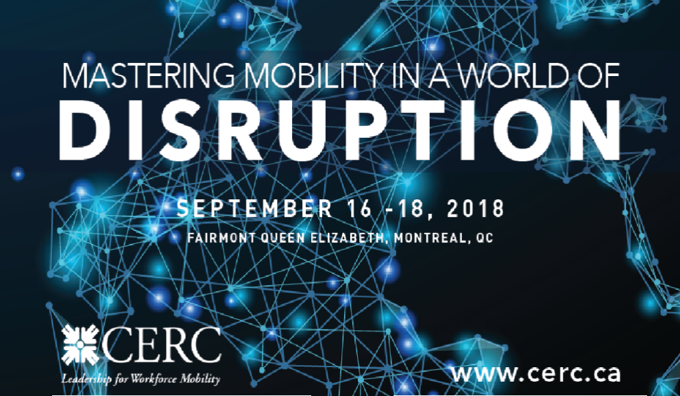 CERC Conference 2018 - Mastering Mobility In A World of Disruption
