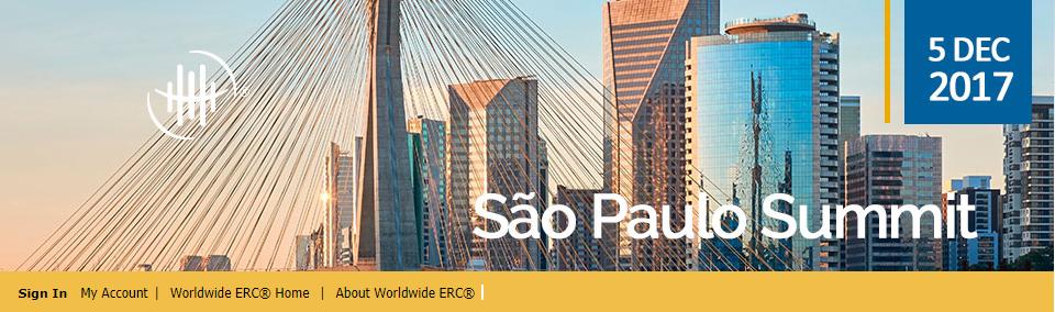 Worldwide ERC Sao Paolo Summit